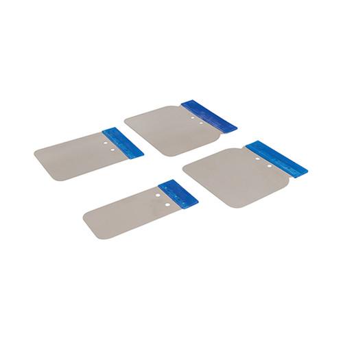 Silverline Filler Application Set - 4 Blade Pack - 427734