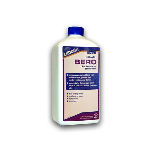Lithofin Bero PRO - Rust Remover & Stone Cleaner - 1 Litre