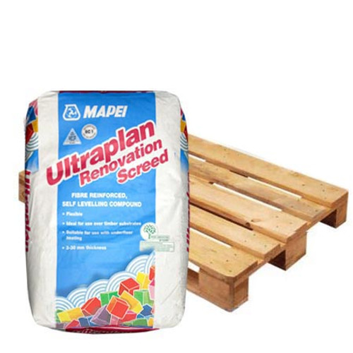 Mapei Ultraplan Renovation Screed 3240 - Full Pallet Deal - 40 Bags