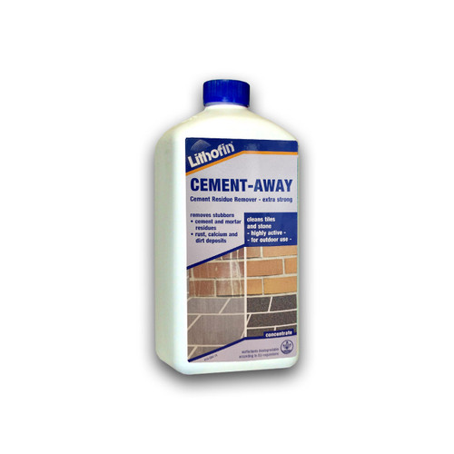Lithofin Cement Away - Cement Residue Remover (Extra Strong) - 1 Litre