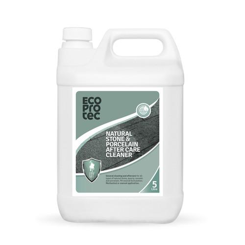 EcoProTec - Natural Stone & Porcelain After Care Cleaner - 5 Litre