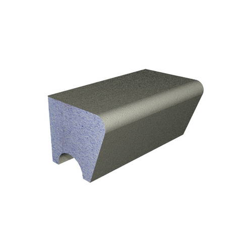 AquaFix Low Back Shower / Steam Room Seat 470mm high x 1000mm