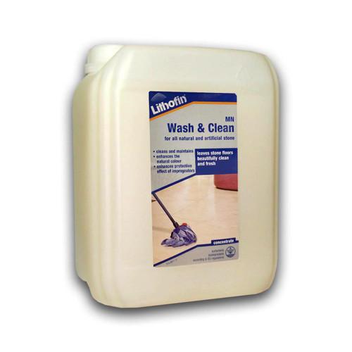 Lithofin MN Wash & Clean Maintains Tiles - 5 Litre