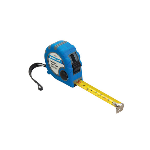 Silverline Measure Mate Tape Measure - 5m Tape - 868770