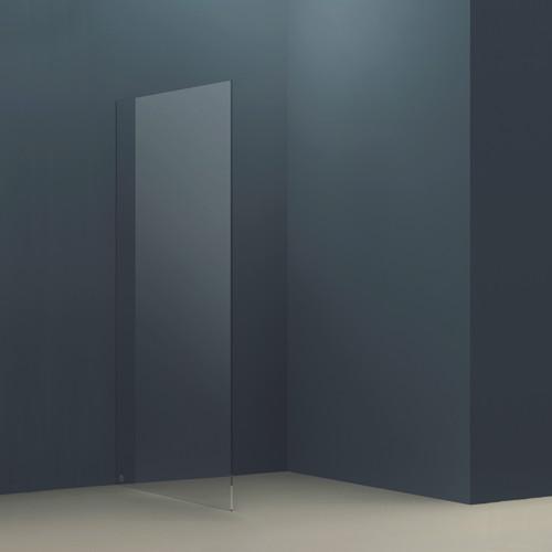 AquaFix 10mm Wetroom Glass Shower Screen - 2000 x 1090mm