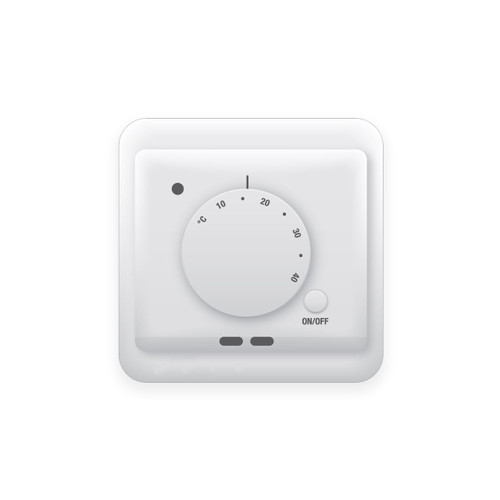 Lava Electric Underfloor Heating Manual Dial Thermostat