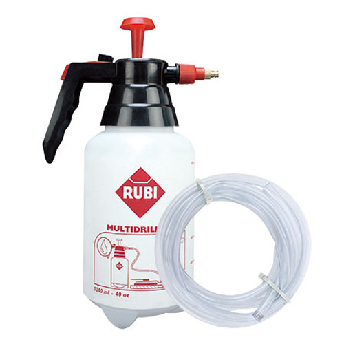 Rubi Water Bottle & Hose for use with Multidrill Guide 1200ml - 50947