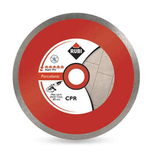 Rubi Porcelain Tile Continous Rim Diamond Blade (CPR) - 115mm - 30972