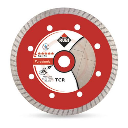 Rubi Porcelain Tiles Turbo Diamond Blade (TCR) - 125mm - 31973