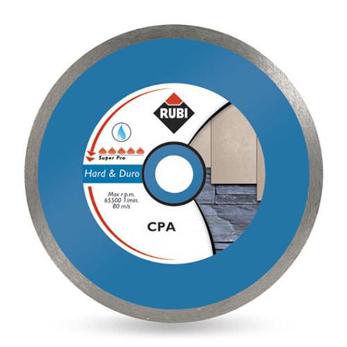 Rubi Hard Materials Continuous Rim Diamond Blade (CPA)- 180mm- 30925