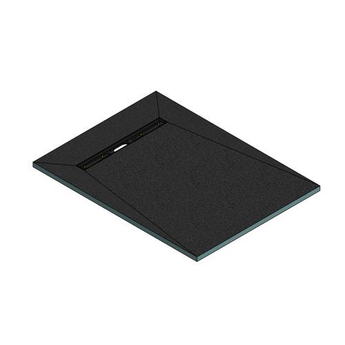 AquaFix Wetroom Shower Tray - 1600x900x30mm - 600mm Linear End Waste