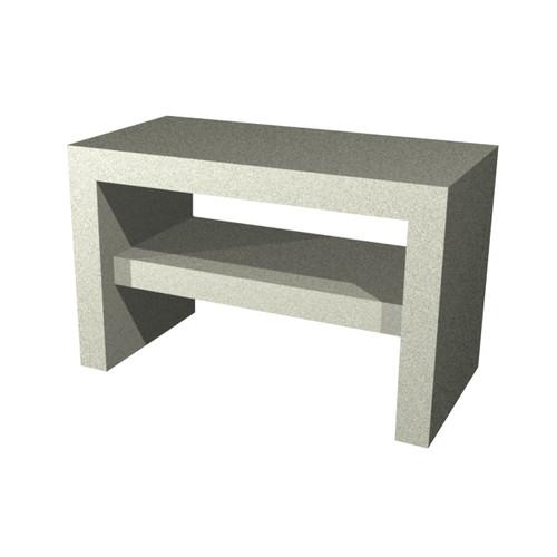 AquaFix Tileable Vanity Unit with Shelf - Various Sizes Available