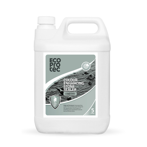 EcoProTec - Colour Enhancing Stone Sealer (Water Based) - 5 Litre
