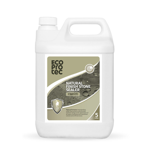 EcoProTec - Natural Finish Stone Sealer (Water Based) - 5 Litre