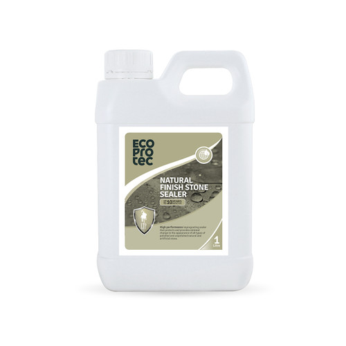 EcoProTec - Natural Finish Stone Sealer (Water Based) - 1 Litre