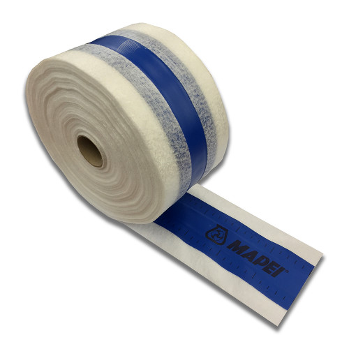 Mapei Mapeband - Vapour & Water-Resistant Rubber Tape - 50m x 120mm
