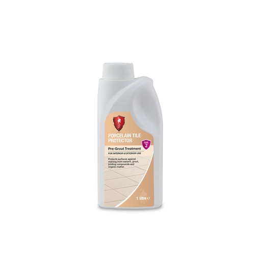 LTP Porcelain Tile Protector - Invisible Protection Against Staining - 1 Litre