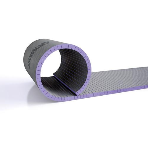 Jackoboard Flexo Curved Construction Board 1300x600x50mm Cross Slot
