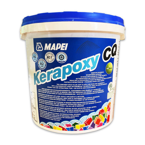 Mapei Kerapoxy CQ - Two Part Epoxy Grout - Silver Grey (111) - 3 kg