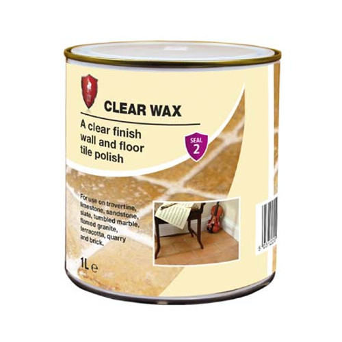 LTP Clear Wax - A Clear Finish Wall & Floor Tile Polish - 1 Litre