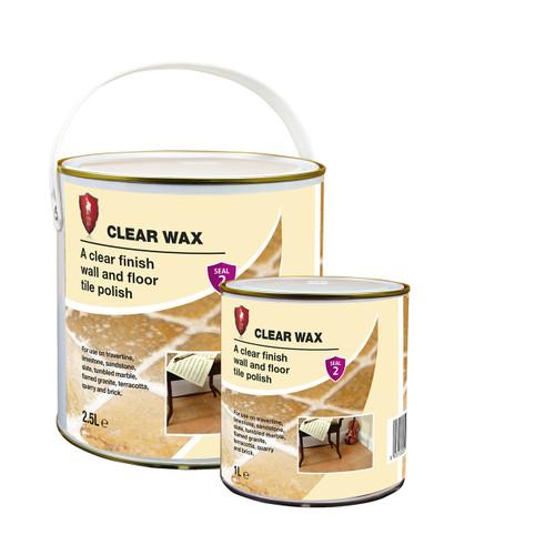 LTP Clear Wax - A Clear Finish Wall & Floor Tile Polish - 2.5 Litre
