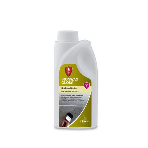 LTP Ironwax Gloss - Low Maintenance Self Shine Gloss Finish - 1 Litre