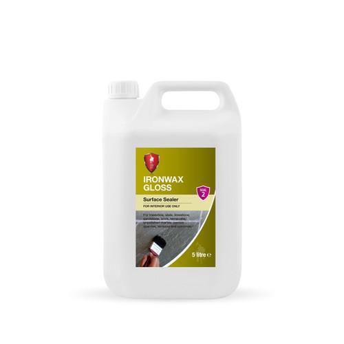 LTP Ironwax Gloss - Low Maintenance Self Shine Gloss Finish - 5 Litre