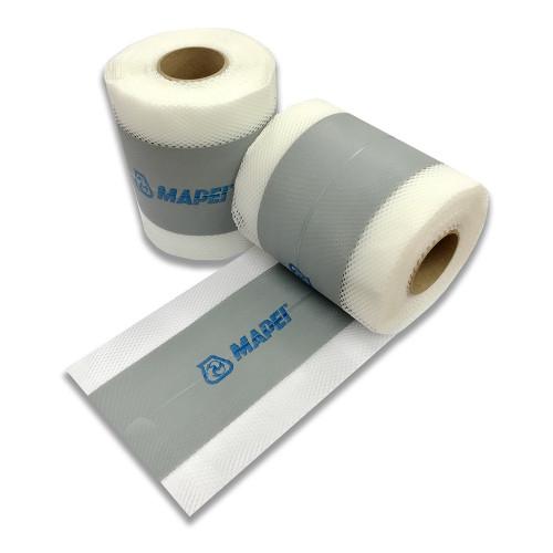 Mapei Mapeband PE120 - PVC Tape for Waterproofing - 10m