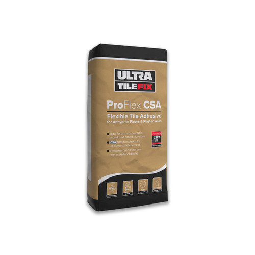 Ultra Tile Fix Pro Flex CSA Flexible Tile Adhesive for Anhydrite Floors & Plaster Walls
