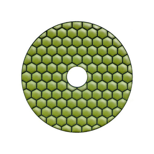 SAIT Diamond Sanding Polishing Disk DV100 SD - DRY USE - 1500 GRIT - WHITE STONE