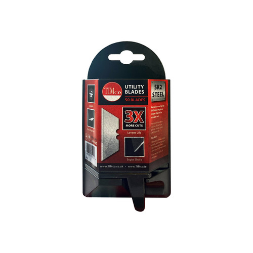 Timco Utility / General Purpose Cutting Blades - Dispenser of 50