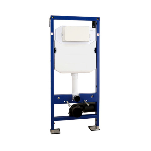 AquaFix WC Wall Mounted Frame 1180mm with Dual Flush Cistern