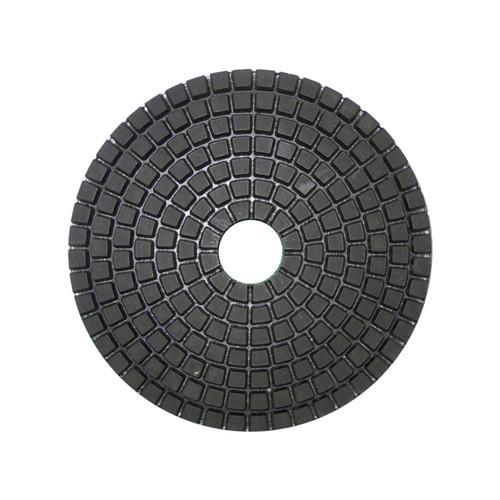 SAIT Diamond Polishing Sanding Disk DV100 W - WET USE - BUFF White / Light Materials