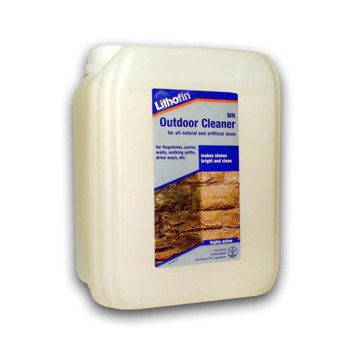 Lithofin MN Outdoor Cleaner for Natural & Artificial Stone - 5 Litre