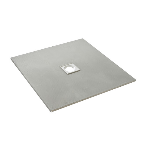 AquaFix Low Profile Wetroom Shower Tray - 1000x1000x20mm Centre Waste