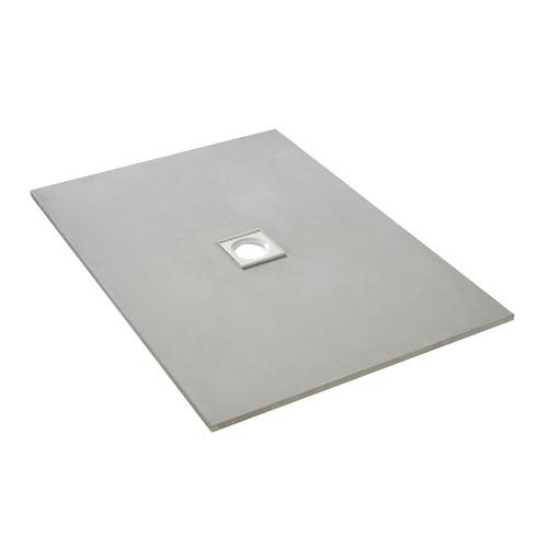 AquaFix Low Profile Wetroom Shower Tray - 1200x900x20mm Centre Waste