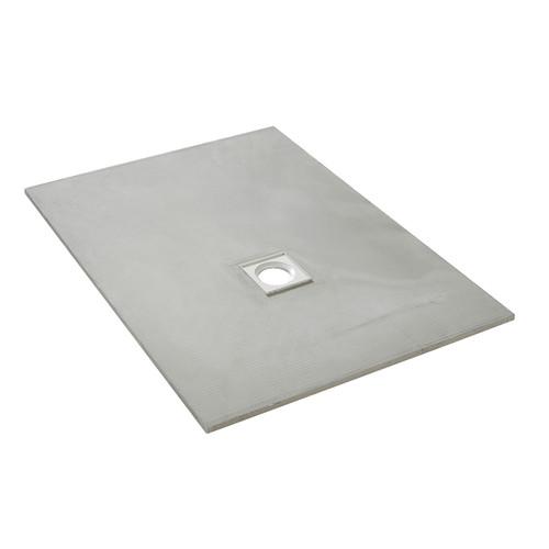 AquaFix Low Profile Wetroom Shower Tray - 1200x900x20mm Offset Waste