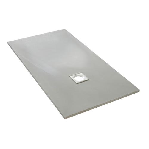 AquaFix Low Profile Wetroom Shower Tray - 1500x800x25mm Offset Waste