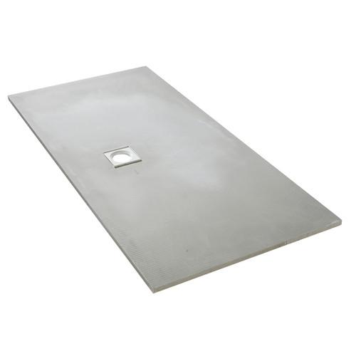 AquaFix Low Profile Wetroom Shower Tray - 1800x900x25mm Offset Waste