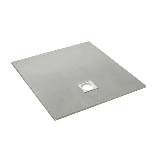 AquaFix Low Profile Wetroom Shower Tray - 1200x1200x25mm Offset Waste