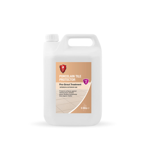 LTP Porcelain Tile Protector - Invisible Protection Against Staining - 5 Litre