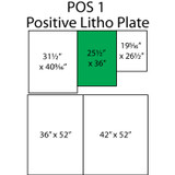 Photolithography Positive Working Plate