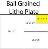 Ball Grained Aluminum Plate