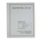 Aquatint Box Blue Print Set