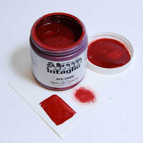 Red Oxide Akua Intaglio IIRO