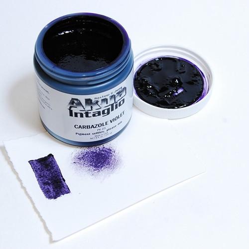 Carbazole Violet Akua Intaglio IICV