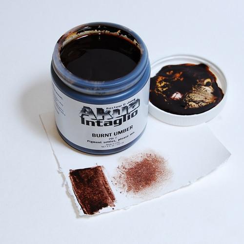 Burnt Umber Akua Intaglio IIBU
