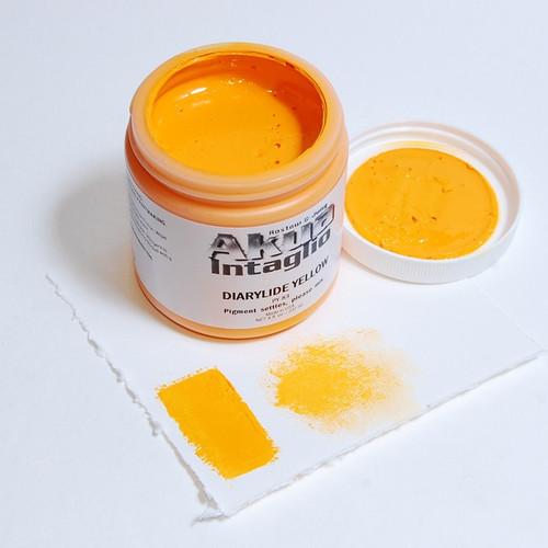 Dairylide Yellow Akua Intaglio IIDT