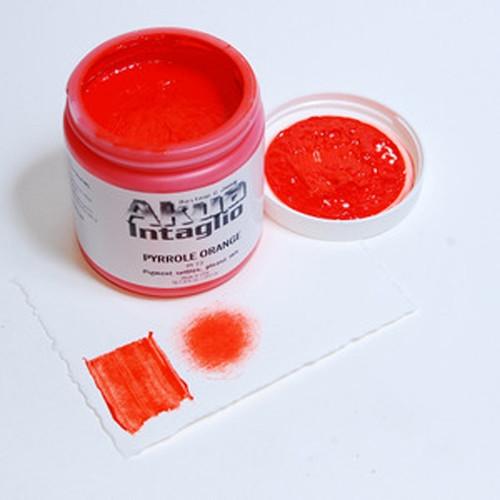 Pyrrole Orange Akua Intaglio IIPO