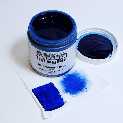 Ultramarine Blue Akua Intaglio IIUB